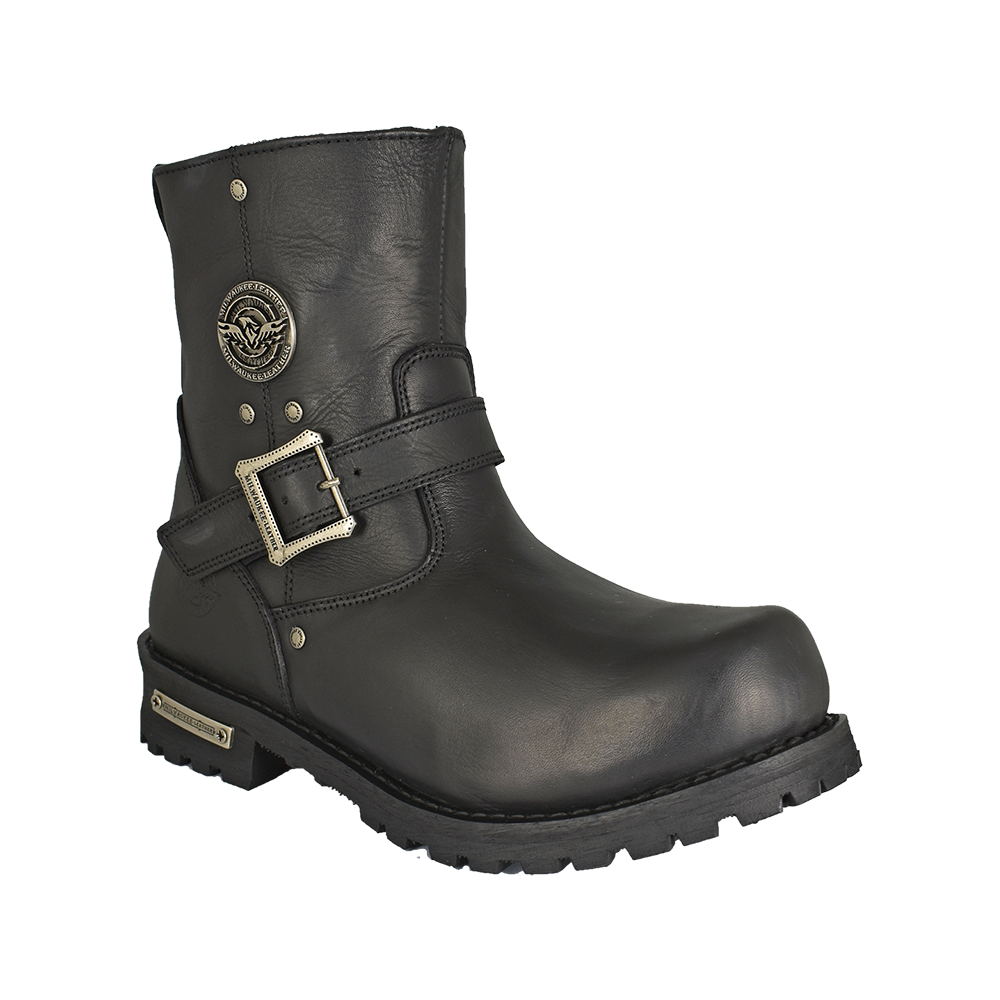 c7b8aac32192 Classic Engineer Wide Boot - Boutique of Leathers Open Road