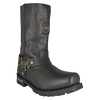 "Men's 11"" Harness Motorcycle Boots"