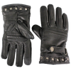 Women's Touch Tip Leather Motorcycle Gloves