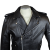 Men's Tall Classic Leather Motorcycle Jacket