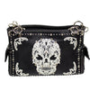 Sugar Skull Embroidered Handbag