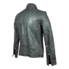Men's Ribbed Design Leather Jacket