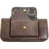 Brown Wallet with Power Bank