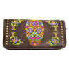 Women's Sugar Skull Power Bank Wallet