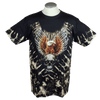Men's Tie Dye Eagle Graphic T-shirt