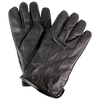 Cashmere Wool Men's Leather Gloves