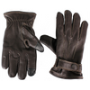 Men's Contrast Stitch Leather Tech Gloves