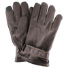 Brown Contrast Stitch Tech Gloves