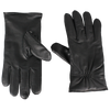 Black Leather Thinsulate Gloves