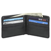 Bi Fold Black Leather Wallet