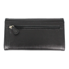 Women's Wing Flap Leather Organizer Wallet