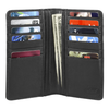 Men's Slim Breast Pocket Bifold Leather Wallet