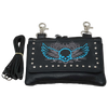 Skull Wing Clip Bag