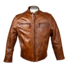Men's Racer Leather Jacket