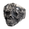 Cyborg Skull Men's Ring