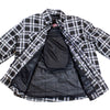 Men's Plaid Flannel Armored Shirt Jacket