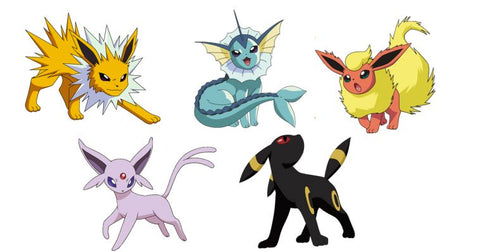eevee evolutions pokemon go