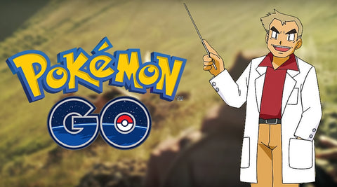 professor oak pokemon GO