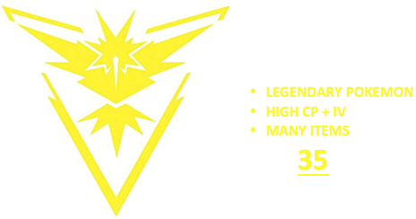 Ultimate Level 35 Team Instinct PoGo Account (INSTANT DELIVERY)