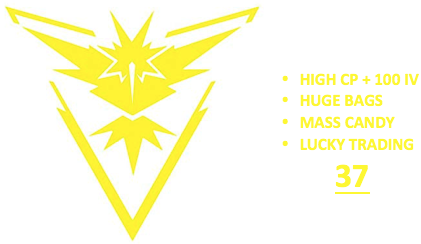 Ultimate Level 37 Team Instinct PoGo Account (INSTANT DELIVERY)