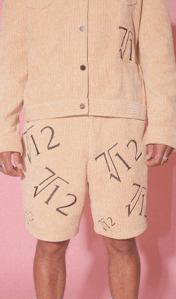 """7 DIVIDED BY 12"" CORDUROY SHORTS"