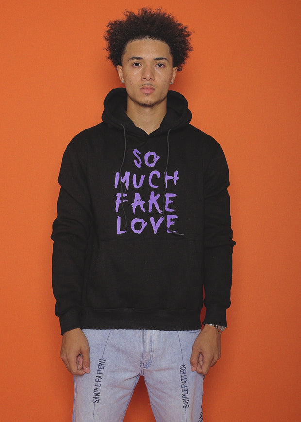"""SO MUCH FAKE LOVE"" HOODIE (FALL COLORWAY 1)"