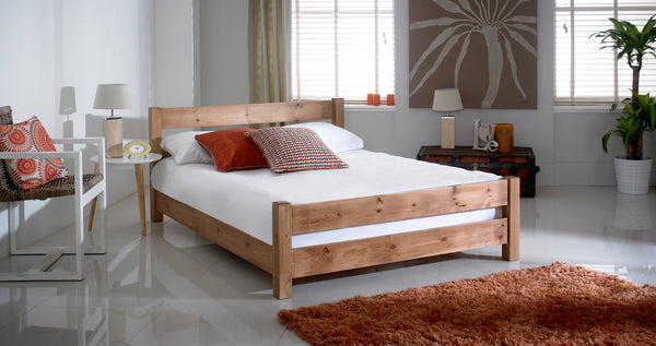 Taylor Wooden Bed Frame - Cheap Beds Direct