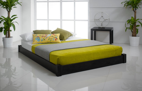 Studio Low Wooden Bed Frame - Cheap Beds Direct