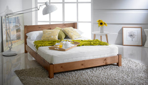 Vale Low Wooden Bed Frame