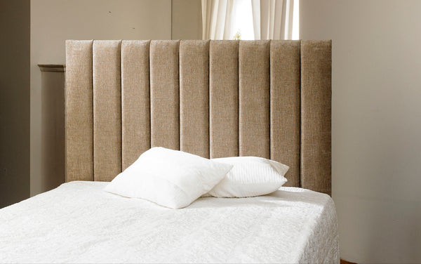 Madrid Floor standing Upholstered Headboard - Cheap Beds Direct