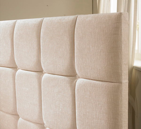 Venice Floor standing Upholstered Headboard - Cheap Beds Direct