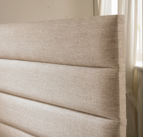 Rome Floor standing Upholstered Headboard - Cheap Beds Direct