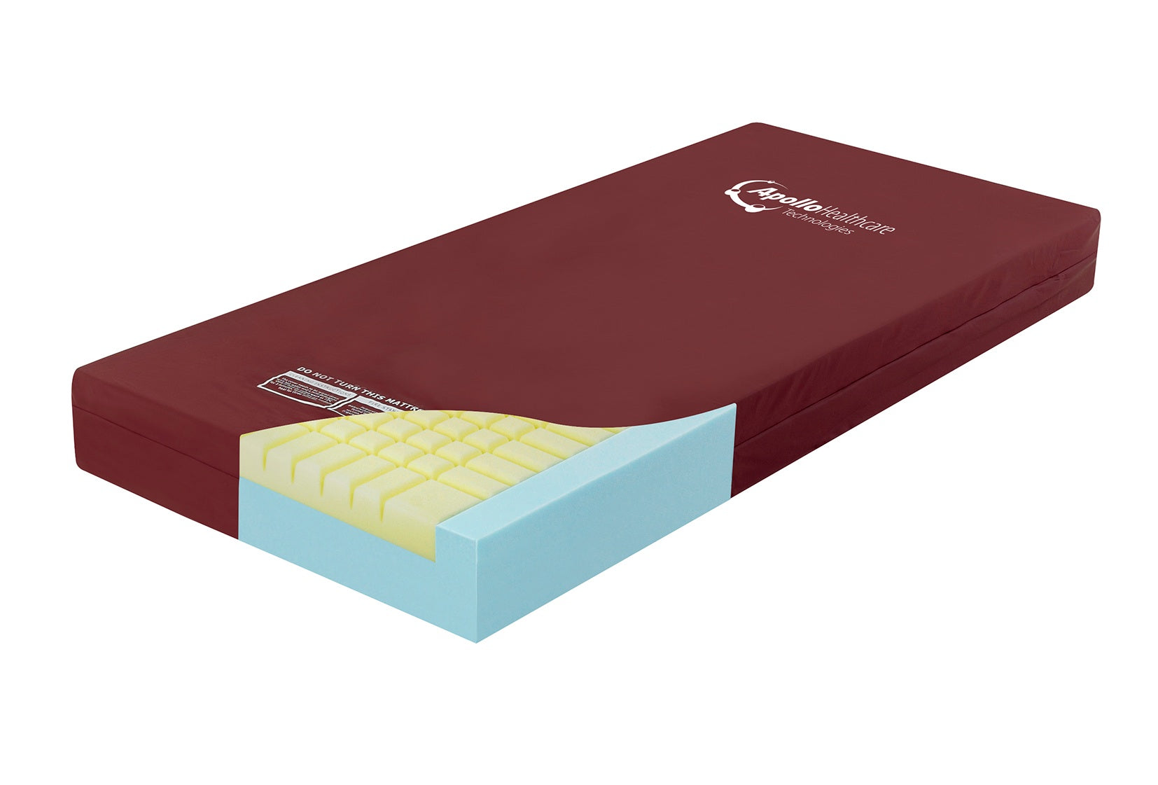 Memo-Form Plus Static Healthcare Mattress - Cheap Beds Direct
