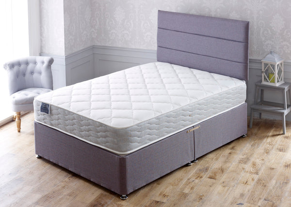 Entice Memory Foam Double Sided Divan Set - Cheap Beds Direct