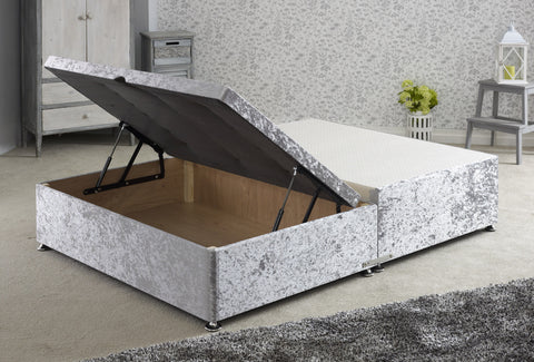Ottoman Storage Bed (Half Opening) - Cheap Beds Direct