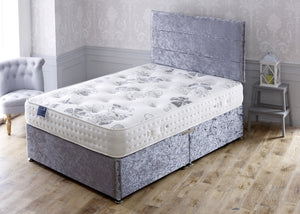 Windsor Backcare Divan Bed Set with Orthopaedic Sprung Medium/Firm Comfort Mattress - Cheap Beds Direct