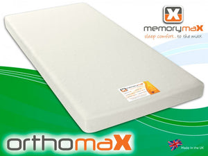 Orthomax Rolled Foam Mattress - Cheap Beds Direct