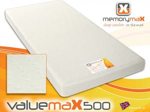 Valuemax500 Rolled Foam Mattress - Cheap Beds Direct