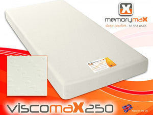 Viscomax250 Rolled Foam Mattress