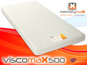 Viscomax500 Rolled Foam Mattress - Cheap Beds Direct