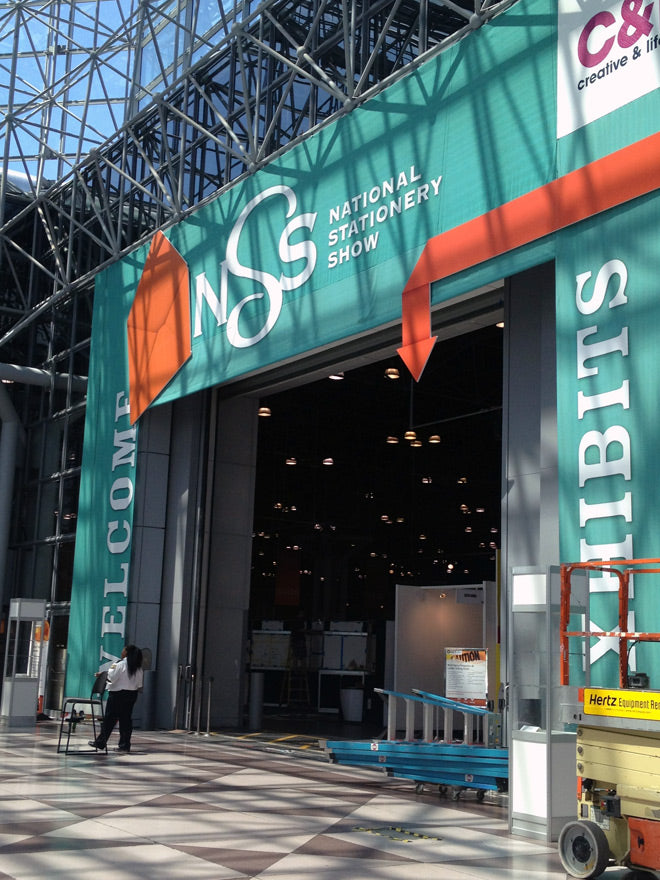 national stationery show at the javitz center