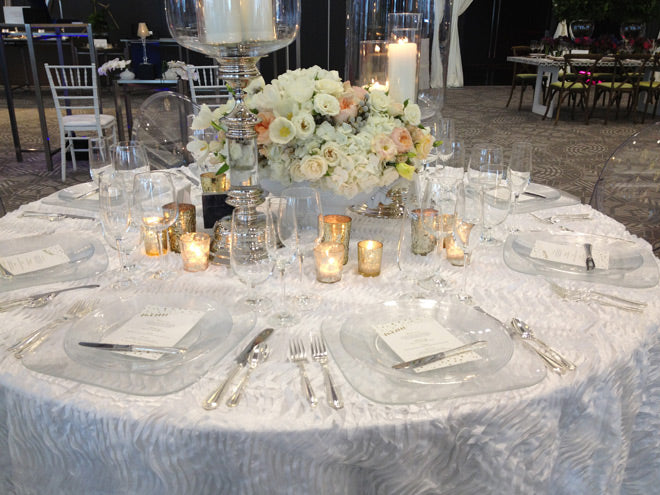 martha stewart wedding party chicago 2013 tablescape