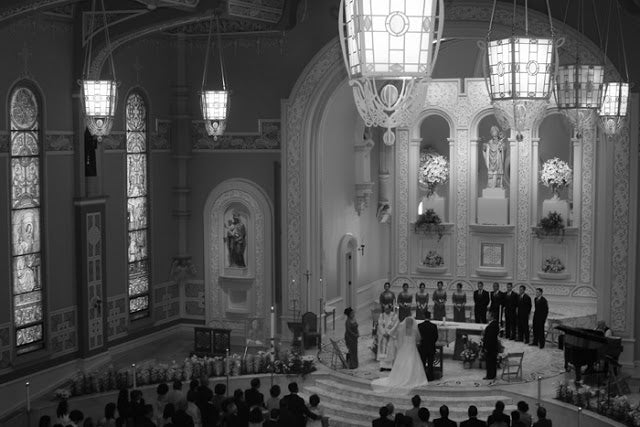 wedding old st pats chicago