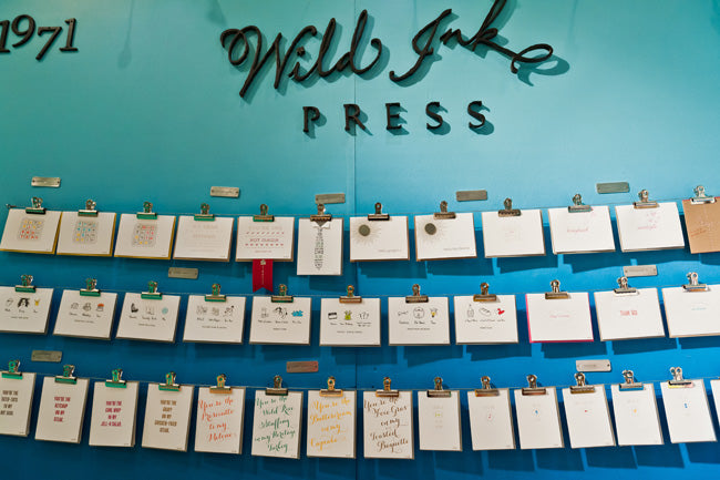 wild ink press booth at nss 2012