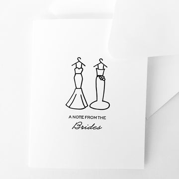 note from brides