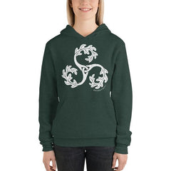 RambleTree triple oak green ladies hoodie