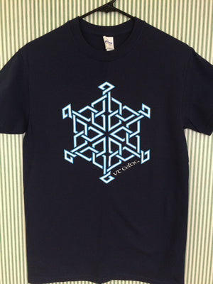 Snowflake Hex - Classic Tee (VT Celtic clearance)