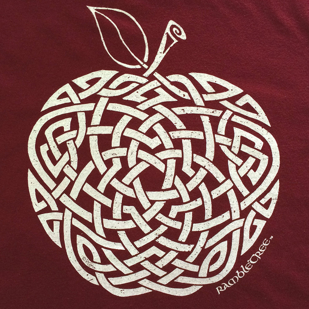 Morgan's Apple - Unisex Tee (white print)