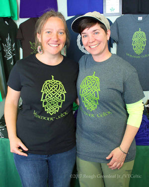Knotty Hop - Ladies Classic Tee (VT Celtic clearance)