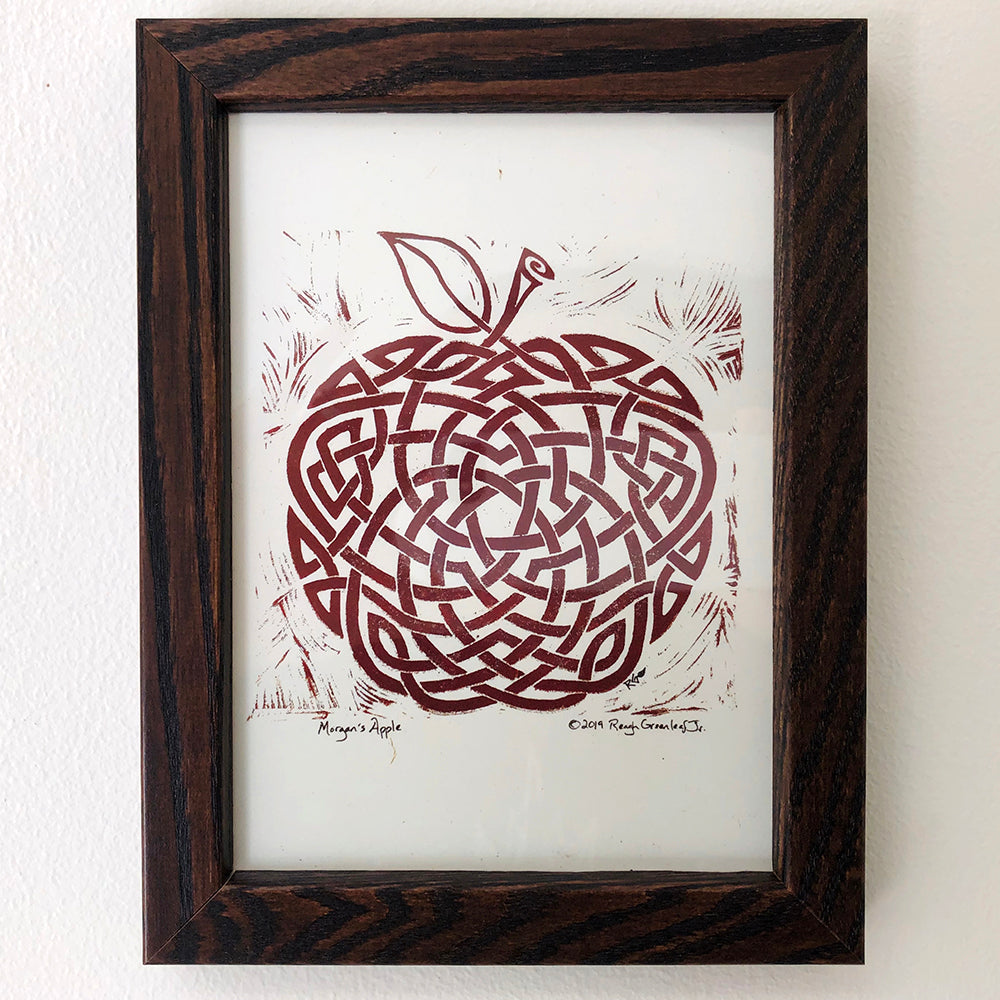 Morgan's Apple - Framed Print